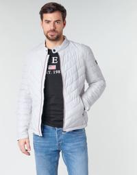 Oblečenie Muži Vyteplené bundy Guess SUPER FITTED JKT TRAVEL Biela