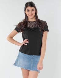 Oblečenie Ženy Blúzky Guess ALICIA TOP Čierna