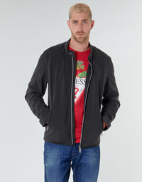 Oblečenie Muži Bundy  Guess CUMMUTER JACKET Čierna