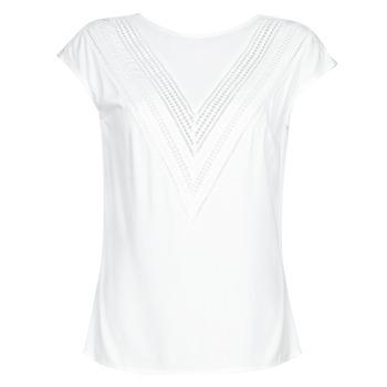 Oblečenie Ženy Blúzky Guess SS MALIKA TOP Biela