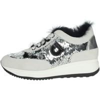 Topánky Ženy Nízke tenisky Agile By Ruco Line 1304 Silver