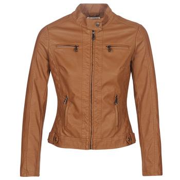 Oblečenie Ženy Kožené bundy a syntetické bundy Moony Mood AW075-CAMEL Ťavia hnedá