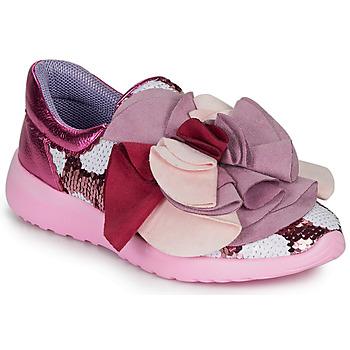 Topánky Ženy Nízke tenisky Irregular Choice RAGTIME RUFFLES Ružová