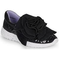 Topánky Ženy Nízke tenisky Irregular Choice RAGTIME RUFFLES Čierna