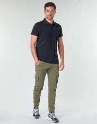 Oblečenie Muži Nohavice Cargo Le Temps des Cerises ALBAN Kaki