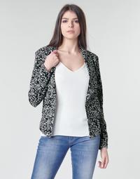 Oblečenie Ženy Saká a blejzre Le Temps des Cerises OPAL Čierna