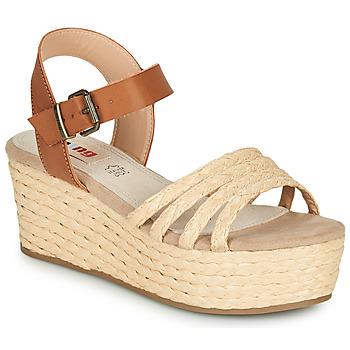 Topánky Ženy Sandále MTNG GARISSON Béžová