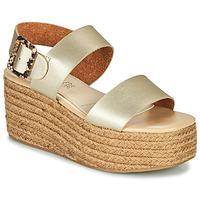 Topánky Ženy Sandále MTNG GARISSAN Zlatá