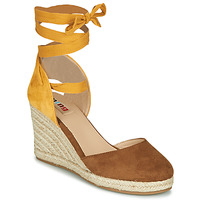 Topánky Ženy Sandále MTNG GELLO Hnedá / Žltá horčicová
