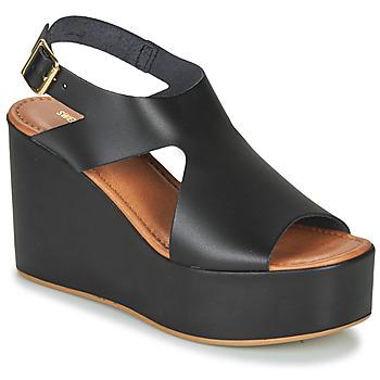 Topánky Ženy Sandále Sweet Lemon IJOX Čierna