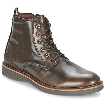 Topánky Muži Polokozačky Coxx Borba MSATA-605.01 Hnedá