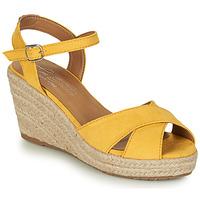 Topánky Ženy Sandále Tom Tailor 8090105 Žltá