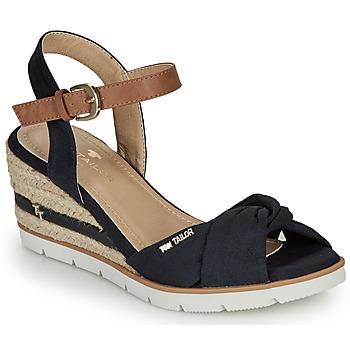 Topánky Ženy Sandále Tom Tailor 8090403 Námornícka modrá