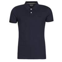 Oblečenie Muži Polokošele s krátkym rukávom Esprit OCS PIQUE POLO SS Námornícka modrá