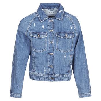 Oblečenie Ženy Džínsové bundy Esprit ESPRILA Modrá / Medium