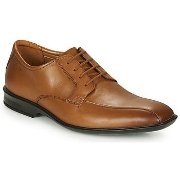 Topánky Muži Derbie Clarks BENSLEY RUN Hnedá