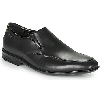 Topánky Muži Derbie Clarks BENSLEY STEP Čierna