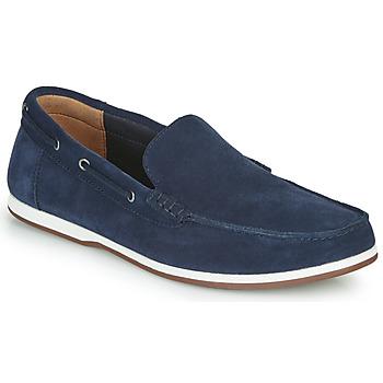 Topánky Muži Námornícke mokasíny Clarks MORVEN SUN Námornícka modrá