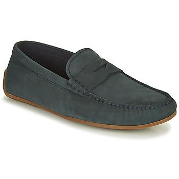 Topánky Muži Mokasíny Clarks REAZOR PENNY Námornícka modrá