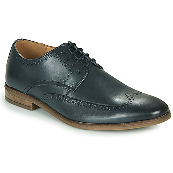 Topánky Muži Derbie Clarks STANFORD LIMIT Námornícka modrá