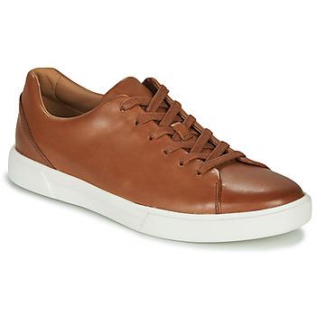 Topánky Muži Nízke tenisky Clarks UN COSTA LACE Svetlá hnedá