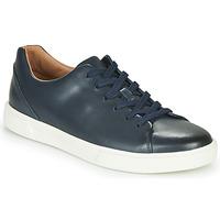 Topánky Muži Nízke tenisky Clarks UN COSTA LACE Námornícka modrá