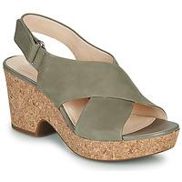 Topánky Ženy Sandále Clarks MARITSA LARA Hnedošedá