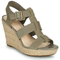 Topánky Ženy Sandále Clarks MARITSA95 GLAD Kaki