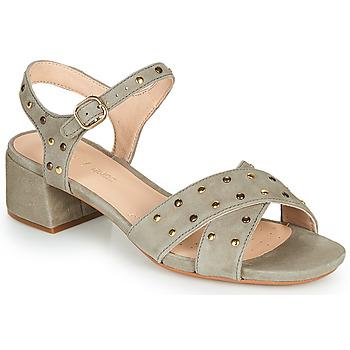 Topánky Ženy Sandále Clarks SHEER35 STRAP Hnedošedá