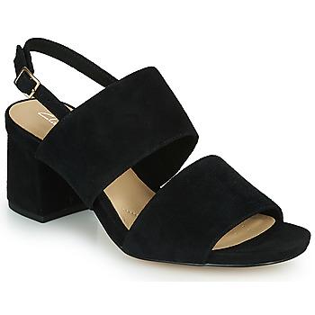 Topánky Ženy Sandále Clarks SHEER55 SLING Čierna