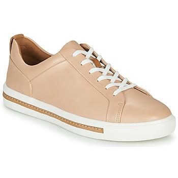 Topánky Ženy Nízke tenisky Clarks UN MAUI LACE Ružová