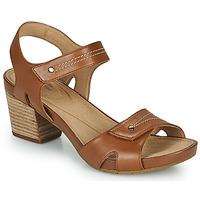 Topánky Ženy Sandále Clarks UN PALMA VIBE Ťavia hnedá