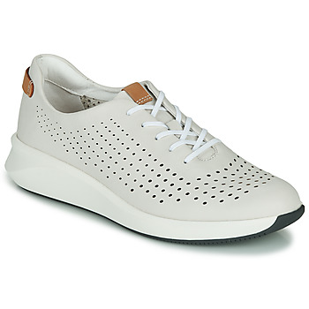 Topánky Ženy Nízke tenisky Clarks UN RIO TIE Biela