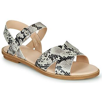 Topánky Ženy Sandále Clarks WILLOW GILD Hadí vzor