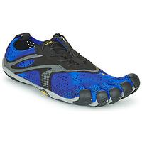 Topánky Muži Bežecká a trailová obuv Vibram Fivefingers V-RUN Čierna / Modrá