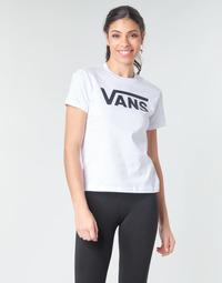 Oblečenie Ženy Tričká s dlhým rukávom Vans FLYING V CREW TEE Biela