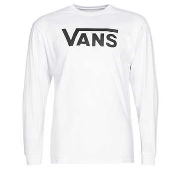 Oblečenie Muži Tričká s dlhým rukávom Vans VANS CLASSIC Biela