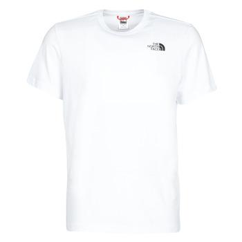 Oblečenie Muži Tričká s krátkym rukávom The North Face S/S REDBOX Biela