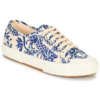 Topánky Ženy Nízke tenisky Superga 2294-COTFANW Béžová / Modrá