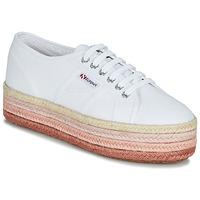 Topánky Ženy Nízke tenisky Superga 2790-COTCOLOROPEW Biela / Ružová