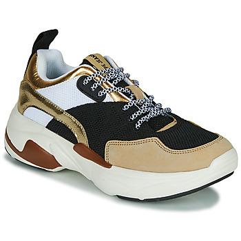 Topánky Ženy Nízke tenisky Pepe jeans SINYU US Čierna / Béžová