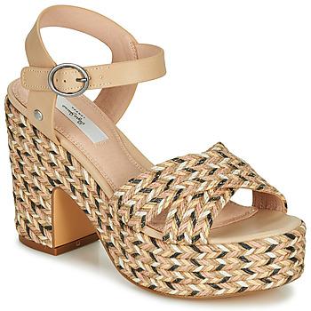 Topánky Ženy Sandále Pepe jeans BLEAN Béžová