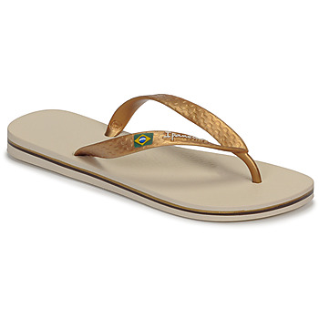 Topánky Ženy Žabky Ipanema CLAS BRASIL II Béžová / Zlatá