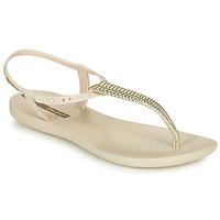 Topánky Ženy Sandále Ipanema CLASS GLAM III Béžová / Zlatá