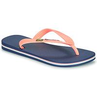 Topánky Dievčatá Žabky Ipanema CLAS BRASIL II Modrá / Oranžová