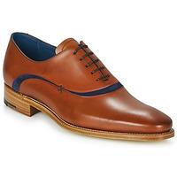 Topánky Muži Richelieu Barker EMERSON Hnedá / Modrá