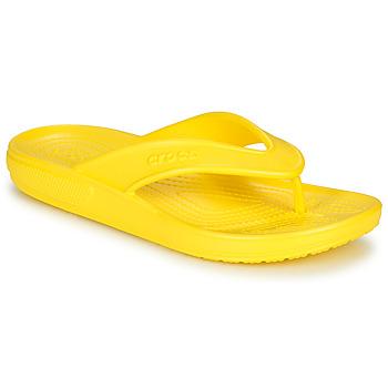 Topánky Žabky Crocs CLASSIC II FLIP Žltá