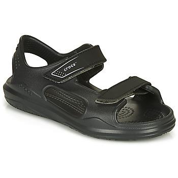 Topánky Deti Sandále Crocs SWIFTWATER EXPEDITION SANDAL Čierna