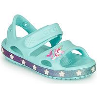 Topánky Dievčatá Sandále Crocs FUNLAB UNICORN SANDAL Modrá