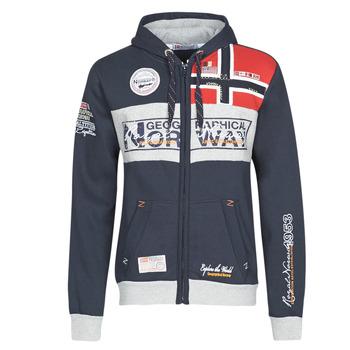 Oblečenie Muži Mikiny Geographical Norway FLYER Námornícka modrá